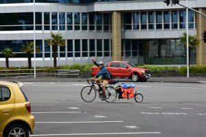 ニュージーランド縦断2000km 自転車の旅がスタート!!