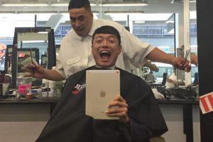 なんと無料!ニュージーランドで今1番イケてる髪型にしてみた。